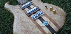 Hints of art deco add to this guitars appeal