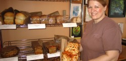 The Dough-ver Loaf, a bread inspired by her most popular bread ingredients. Only sold in Port Dover.