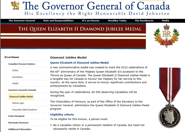 diamonjubileemedaltoby Haldimand Norfolk MPP seeking citizen nominations for Diamond Jub