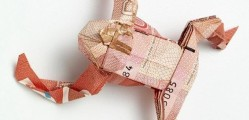 Is Ontario treating money like a plaything? image: Canadian 50$ Bill- Frog Origami. courtesy of http://www.flickr.com/photos/josephwuorigami/
