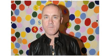 Damien Hirst Commodificiation Of The Arts Banner