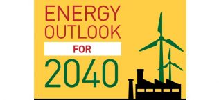 Energy Outlook For 2040 Infographic Banner
