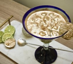 golden tequila cocktail