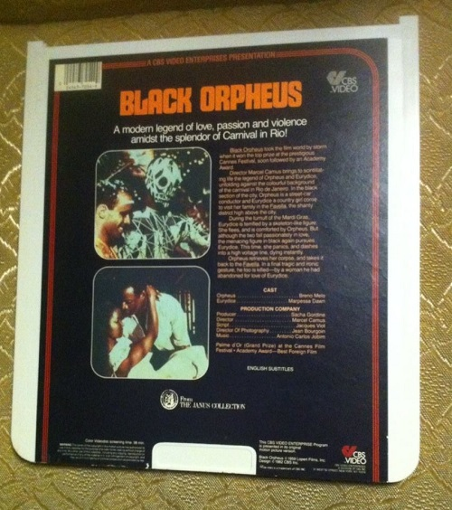 black orpheus cover back