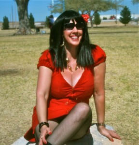 """Xandra """"Sunny"""" Moon, author of """"The Power of the Titz…a woman's journey back to her self"""""""