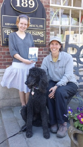 Author Melissa Berryman (right) is a US national dog bite consultant.