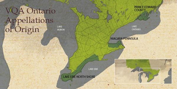 Appellations of Ontario Origin. image: vqaontario.com