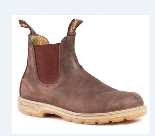 #1319 Rustic Brown with two tone sole from Blundstone Boots Fall line.