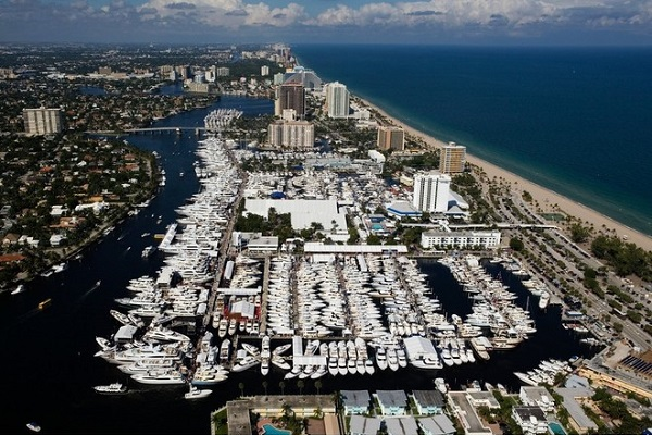 The Fort Lauderdale Boat Show image: Forest Johnson