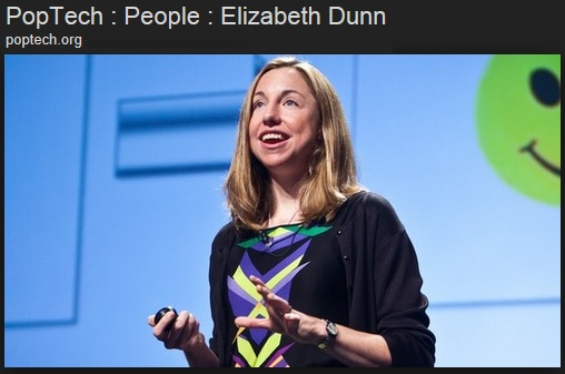Harvard's Happiness researcher (we're not making this stuff up) Elizabeth Dunn