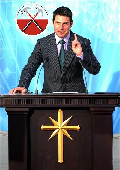 Is Tom Cruise the poster boy for alternative religion?
