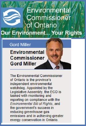 Gord Miller Environmental Commissioner