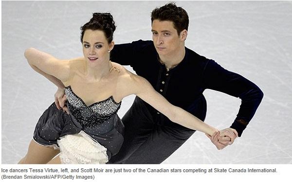 Skate Canada Tessa Virtue and Scott Moir