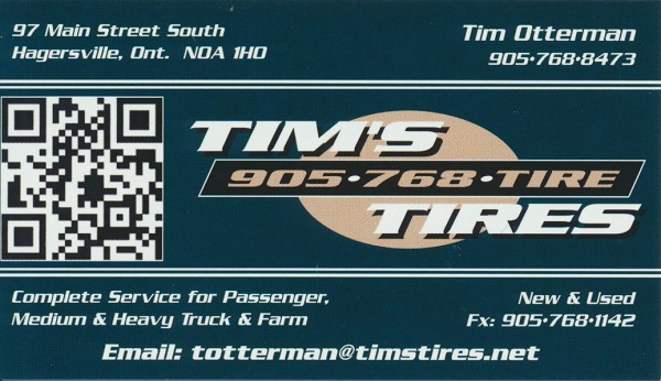 Tims Tires Hagersville