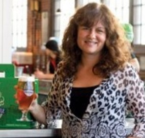 """Cheers"" Sybil (Browne) Taylor Marketing Communications at Steam Whistle Brewing"