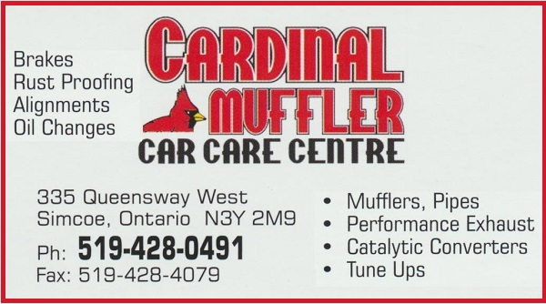 Cardinal Muffler Car Care Centre