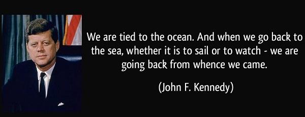JFK Sea Quote