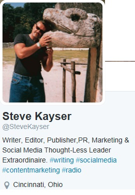 Steve Kayser Author Radio Host