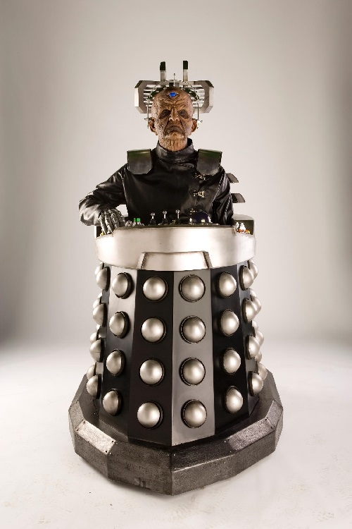 "Fear factor? The recurring cyborg character ""Davros"" from TV's and Netflix' Doctor Who"