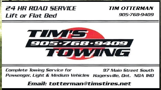 Tims Towing Hagersville