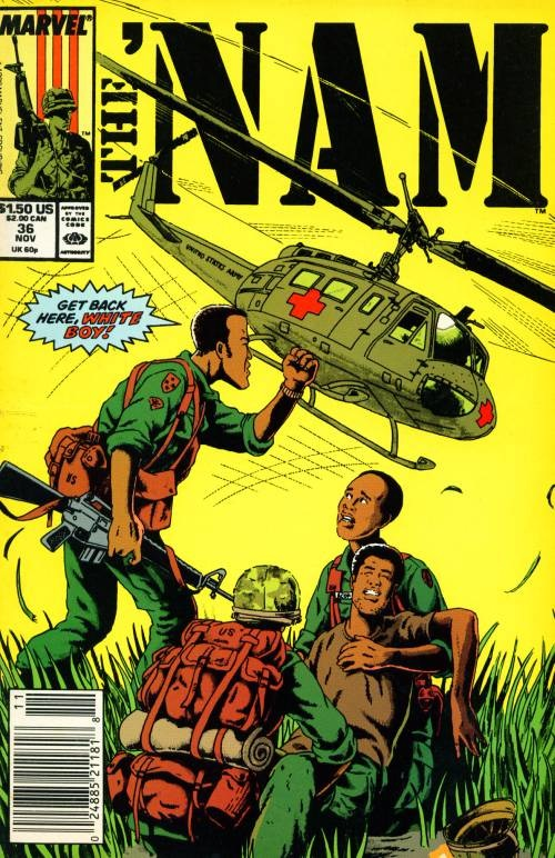 One of Vansant's previous works, The 'Nam was an innovative and truly seminal comic.