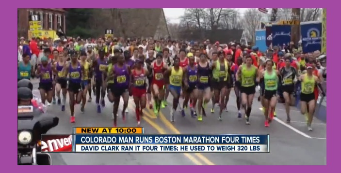 Former Obese Alcoholic and Addict ran Boston Marathon Four times in a row