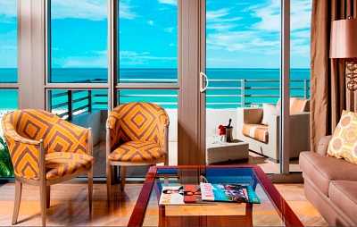 Interior Miami Hilton