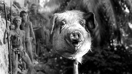 1963 film The Lord of the Flies based on William Golding's novel.