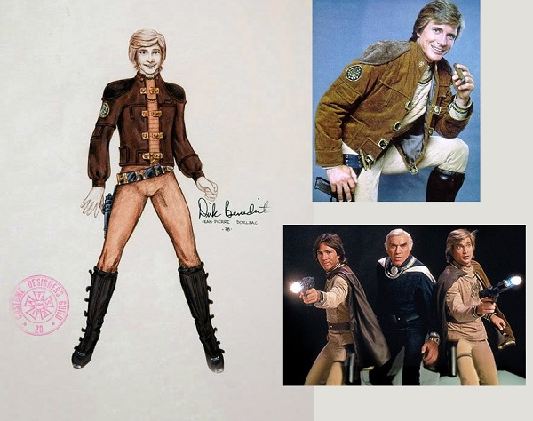 Original Battlestar Galactica Costume Design Sketch