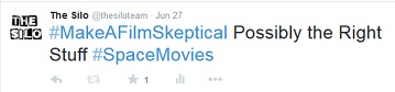 We ( @thesiloteam) had fun with a recent game called #MakeAFilmSkeptical