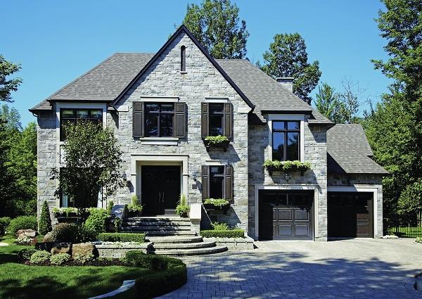 Modern Brick Construction Home