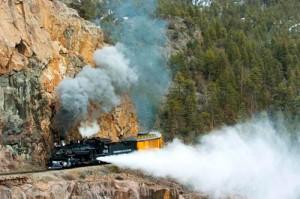 Colorado Ski Towns Mountain Trains