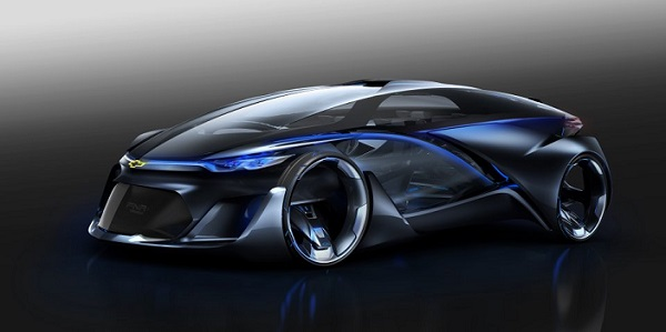 Who wouldn't want to ride/drive Chevrolet's FNR concept car?
