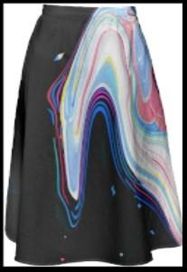 Midi skirt by Shawna X, $80USD