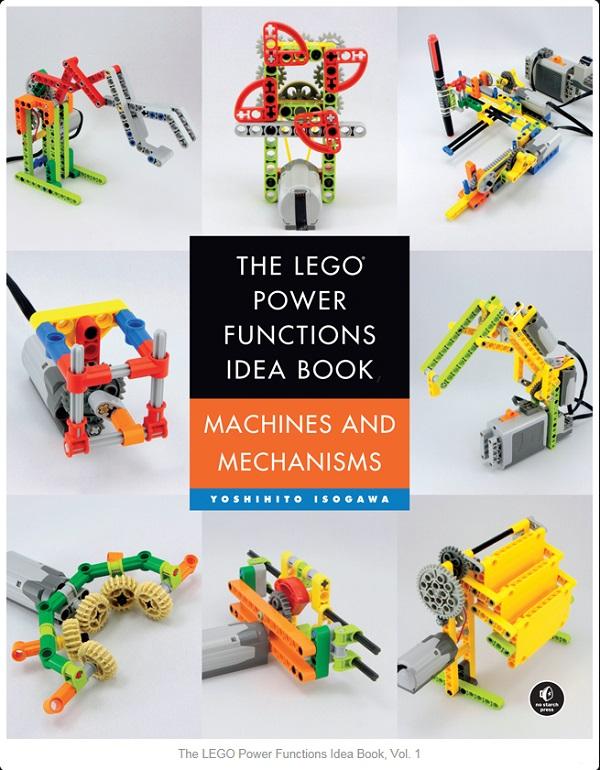 New LEGO Book Machines & Mechanisms