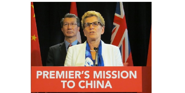 Premier of Ontario's Mission to China generates $2.5Billion in Business agreements