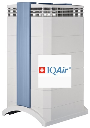 The IQAir HealthPro Plus Air Purifier- made in Switzerland