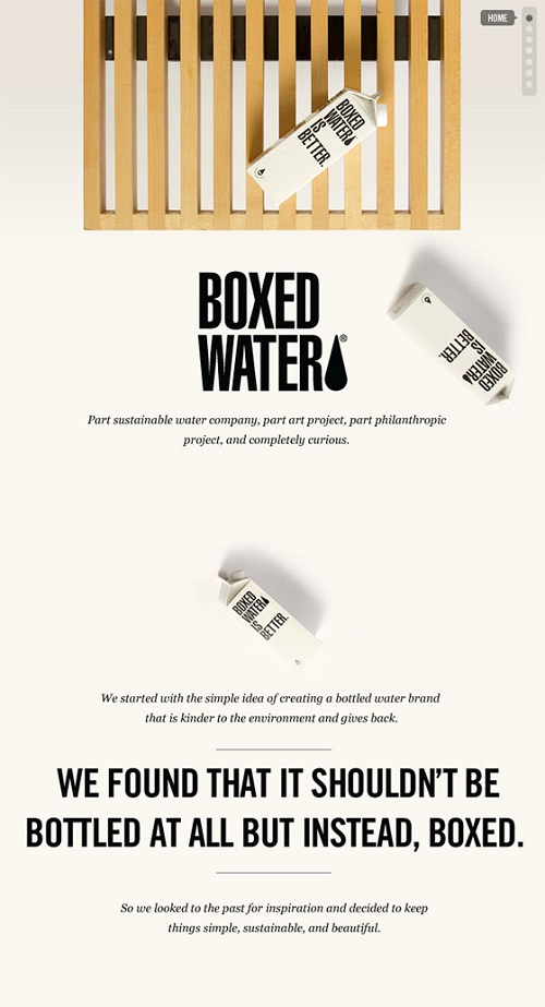 Legacy Boxed Water Poster