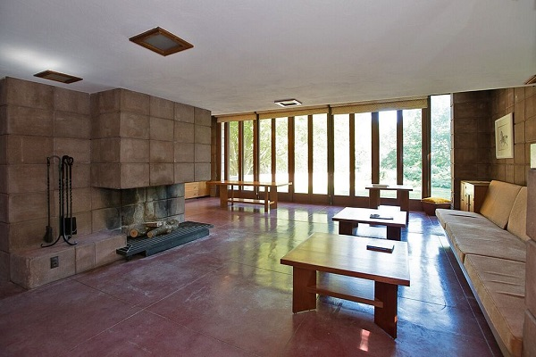 Frank Lloyd Wright Scientist Home Interior 2
