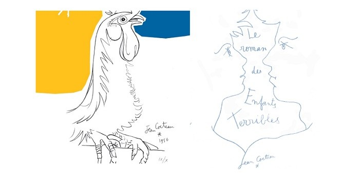 New Adult Coloring Books Inspired By Yves Saint Laurent Jean Cocteau