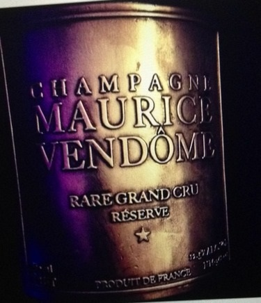 Luxury Maurice Vendome Champagne Label1