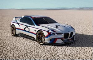 Last year's winner- the BMW CSL R concept car. What a beauty!
