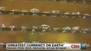 Damien Hirst Greatest Currency on Earth Gold Diamonds and Art CNN