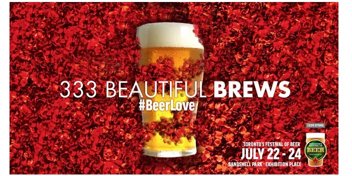 This Summer's Largest Beer Celebration, Toronto's Festival of Beer, will feature 333 brews.