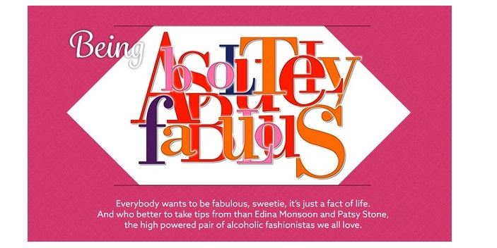 Absolutely Fabulous Infographic Celebrates Release Of Movie