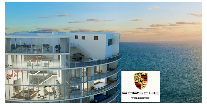 "Florida ""Porsche Tower"" Condos Will Allow Owners To Take Cars Up In Elevator"