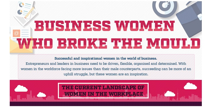 Business Women Who Broke the Mould