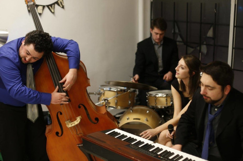 Aubrey Wilson Quartet in February 2015