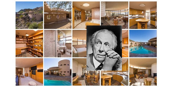 Iconic Architect Frank Lloyd Wright's Last Home Now For Sale
