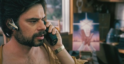 Jemaine Clement as frustrated author Dr. Ronald Chevalier in Gentleman Broncos.